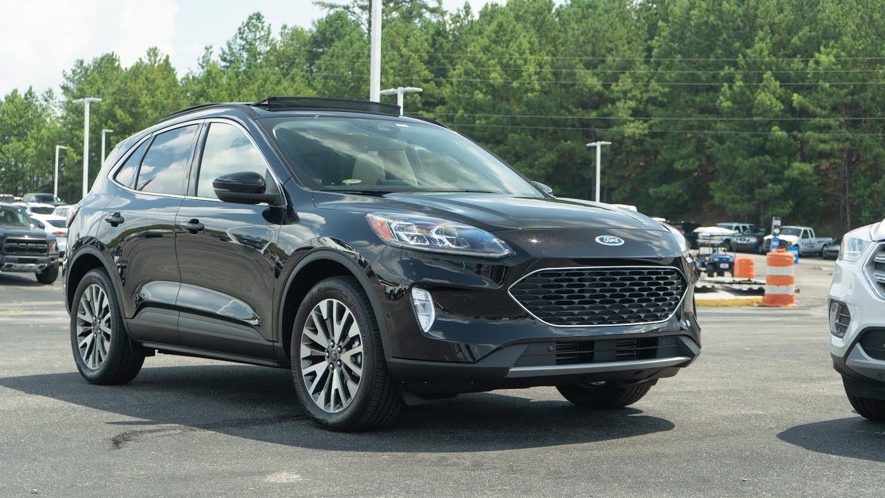 2020 Ford Escape Model