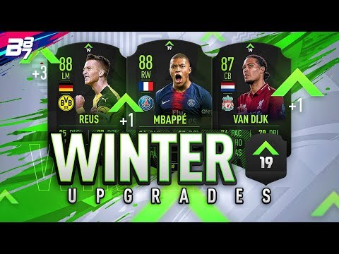 WINTER UPGRADES ARE COMING! RATINGS REFRESH! | FIFA 19 ULTIMATE TEAM thumbnail