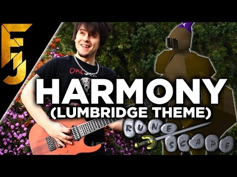 "Runescape - ""Harmony"" (Lumbridge Theme) Guitar Cover 