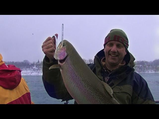 Late Winter Steelie fishing with Kevin Kishel