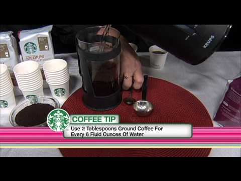 How To Brew The Perfect Cup Of Starbucks Coffee