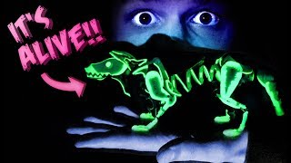 MINIATURE GLOWING PUPPY PUPPET