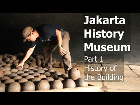 The Jakarta History Museum Part 1  History of The Building