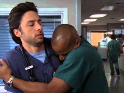 Scrubs J D And Turk Gets Hug Youtube