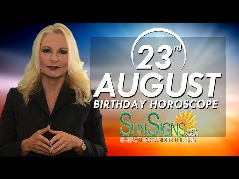 Birthday August 23rd Horoscope Personality Zodiac Sign Virgo Astrology