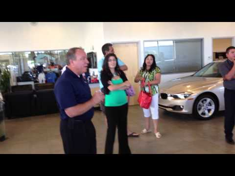 Jim Tulley BMW visit with the LIZ vision night