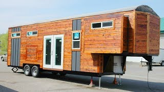 Absolutely Beautiful The Brand New Tiny House On Wheels | Living Design For A Tiny House