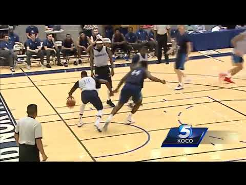 Blue and White Scrimmage gives Thunder fans first look of Carmelo Anthony, Paul George