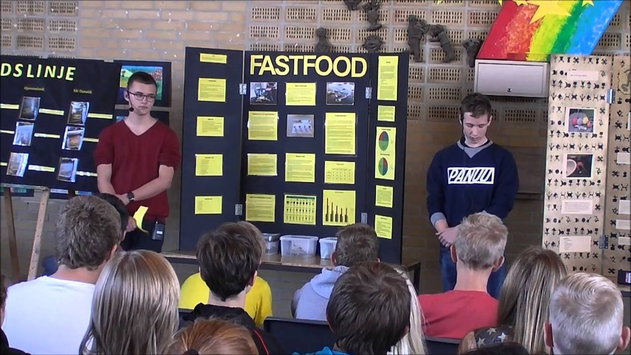 science fair projects on food