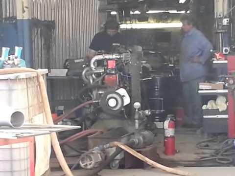 Buick Straight 8 Bonneville Engine on Dyno