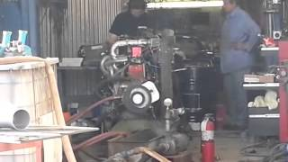 Buick Straight 8 Bonneville Engine on Dyno