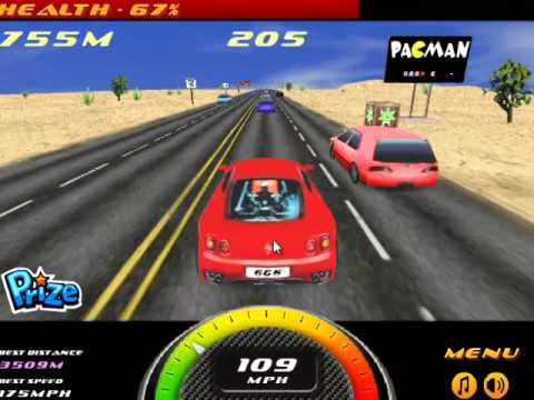 Red colour car racing video game play parte 0123 2 for Play motor racing games