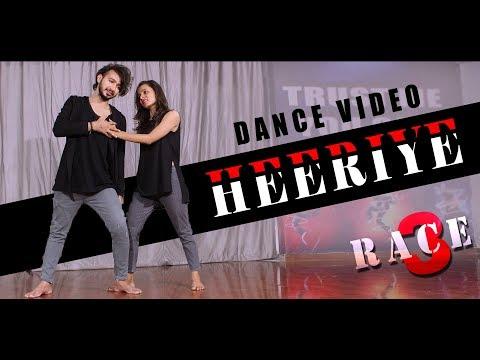 Heeriye Dance Video | Race 3 | Vicky Patel Choreography Duet, Couple Dance