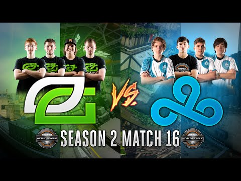 Black Ops 3 CWL - Season 2 Match 16  - OpTic Vs. C9