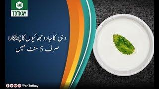 Dahi Ka Jadu Jhayo Se Chotkara Sirf 5 Mint Main | Totka | Remedie | TV One | Pak Totkay