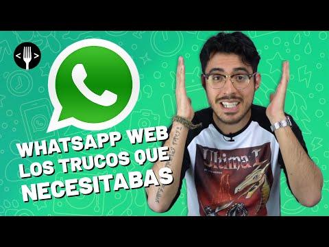 Vuélvete el amo de WhatsApp Web con estos trucos