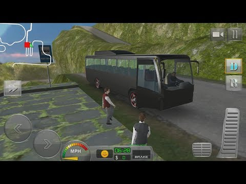 Bus Driver 3D: Hill Station Android Gameplay #6