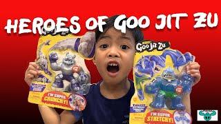 Raza and Heroes of Goo Jit Zu Saves the World! | Goo Jit Zu Heroes