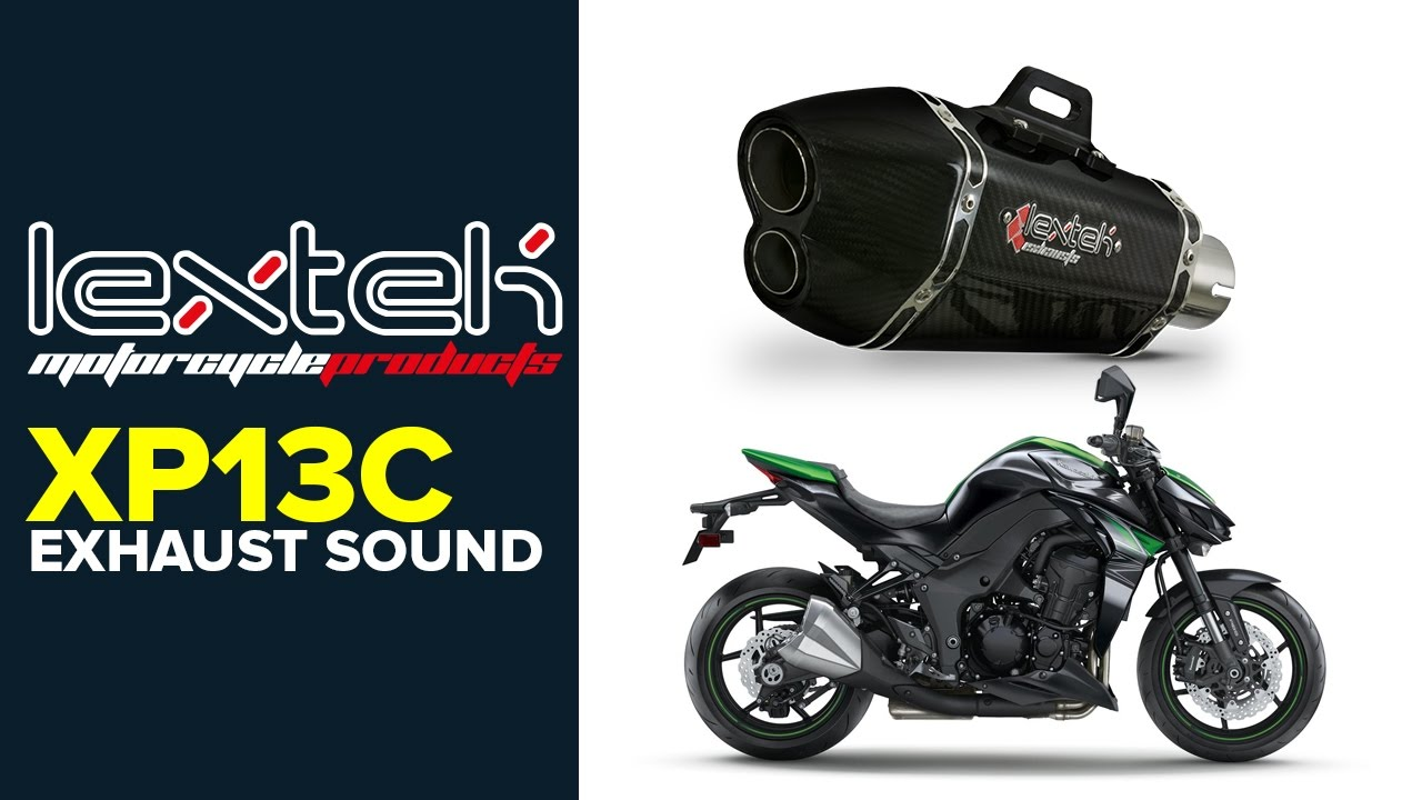 14-18 Lextek XP13C Carbon Fibre Hexagonal Exhaust System for Yamaha YZF-R125