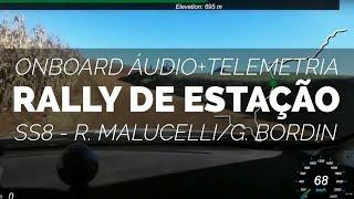 REVIEW 2017 - Onboard Malucelli Bordin   SS8   Rally de Estação 2017