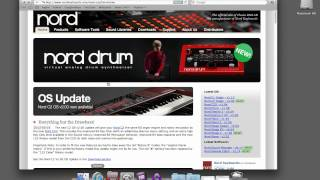 Nord Sound Manager - Adding Sounds