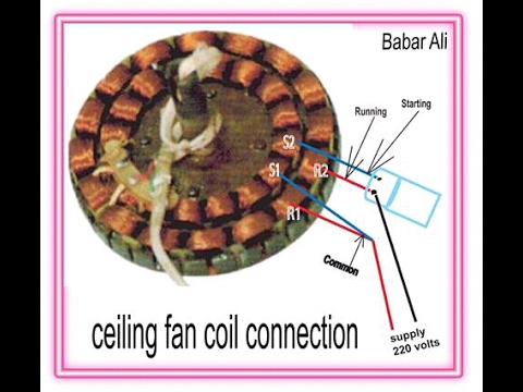 How to connection of ceiling fan in bangla youtube how to connection of ceiling fan in bangla swarovskicordoba Gallery