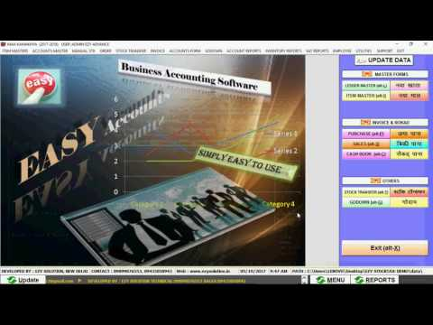 ezy accounting software demo