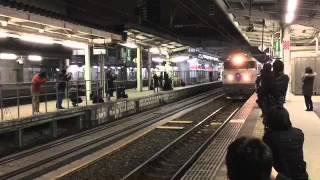惜別の思いを込めて贈る!寝台特急カシオペア、北斗星。そして仙台駅を...