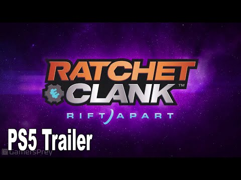 Ratchet and Clank Rift Apart - Reveal Trailer PS5 [HD 1080P]