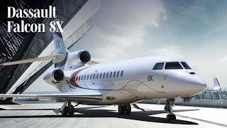 Dassault Falcon 8X Business Jet Interior – AINtv