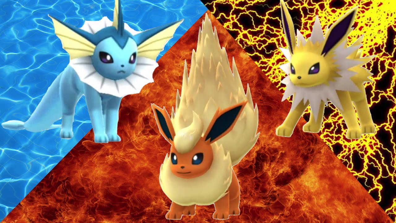 Pokemon Go Vaporeon Vs Jolteon Vs Flareon Youtube