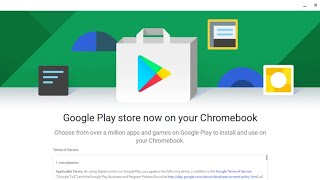 Acer Chromebook 14 - Playstore installation Quick Look and Tutorial