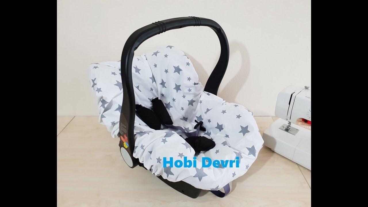 Diy Baby Car Seat Sheet Lastikli Puset Carsafi Dikimi Youtube