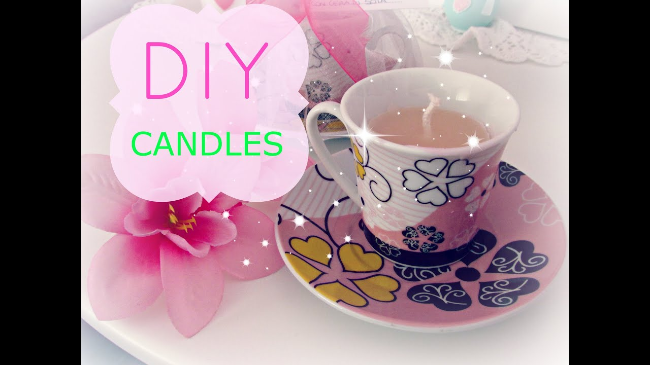 idea regalo per natale: candele profumate fai da te in tazza da