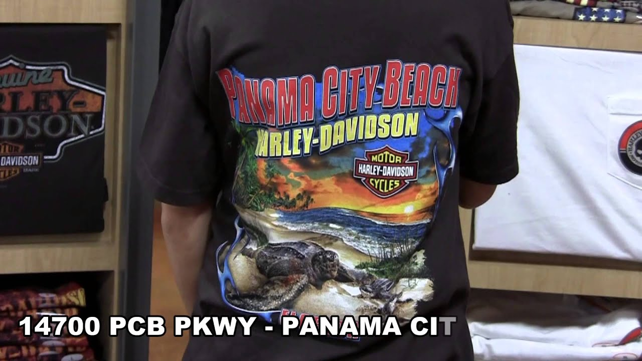 harley-davidson dealer t-shirts for men and women - panama city