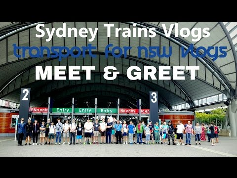 Transport for NSW Vlog No.939 TFNSWV and STV Meet and Greet - 22/4/2016