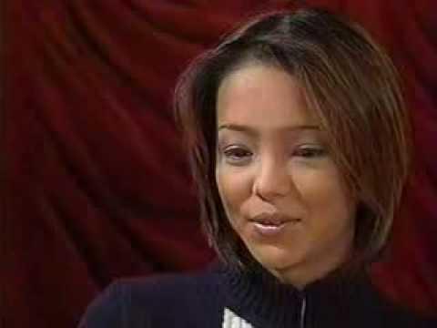 amuro namie 'Interview' on TV in 1997!
