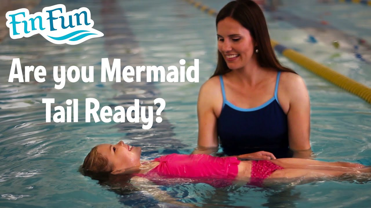 Is your child ready to swim in a MONO FIN?