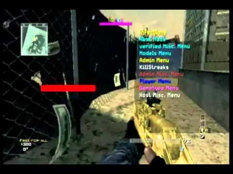 Modern Warfare 3 MW3 Mods XBOX 360 PS3 PC Mod Menu