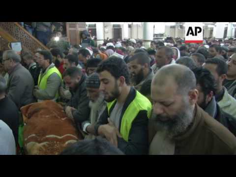 Funeral of Egypt's so-called Blind Sheikh