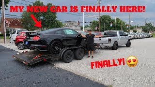 TAKING DELIVERY OF MY NEW 2018 FORD MUSTANG GT 5.0!