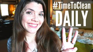 3 DAILY CHORES YOU MUST DO // #TIMETOCLEAN CHALLENGE // SPEED CLEANING ROUTINE