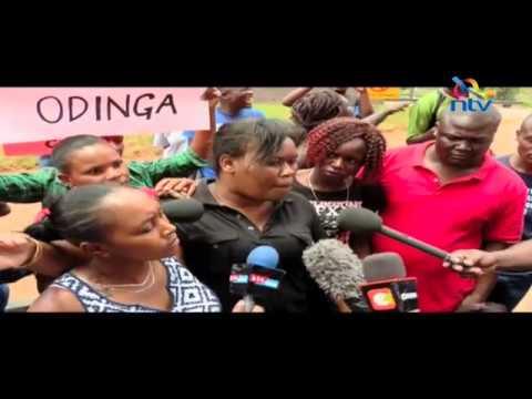 Demonstrators accuse US envoy of meddling in Kenyan affairs