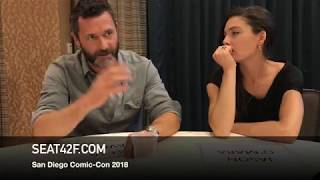 Jason O'Mara Alexa Davalos THE MAN IN THE HIGH CASTLE Comic Con Interview