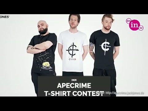 6e25aed6bf36e1 ApeCrime designen T-Shirt für Jack   Jones - YouTube