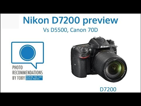Camera Review: Nikon D-7200 – Camera Specs and Comparisons