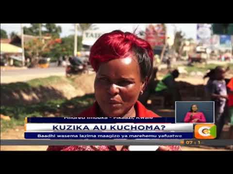Hisia tofauti zatolewa kuhusu wazo la kuchoma maiti ya Matiba