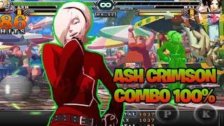 KOF 2012 A- ASH CRIMSON COMBO 100%