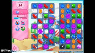 Candy Crush Level 444 Audio Talkthrough, 3 Stars 0 Boosters