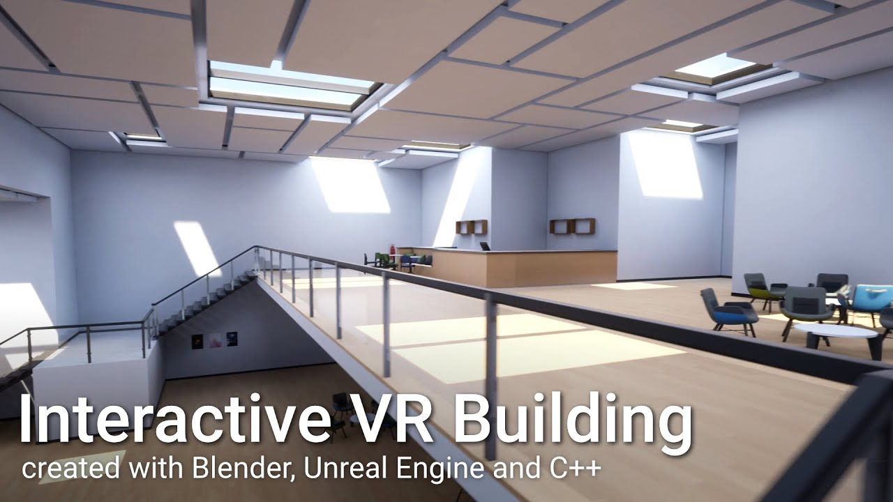 Creating an interactive building for VR - BlenderNation